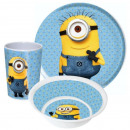 Tableware, melamine set Minions