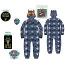 Paw Patrol illuminated child in the dark pyjamas