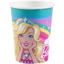 Barbie paper cup 8 pieces 250 ml