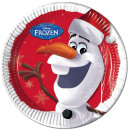 Disney frozen , Ice Cream Paper Plate 8 x 23 cm