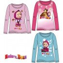 Kids long-sleeved T-shirt Masha and the Bear 2-8 y