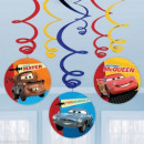 Disney Cars, Voitures décoration ruban 6-Piece Set