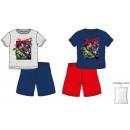 Dzieciak Avengers krótki piżama 3-8 lat