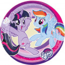 My Little Pony Paper plate 8 pieces 18 cm