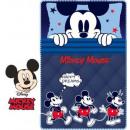 DisneyMickey Fleece Duvert 100 * 150cm