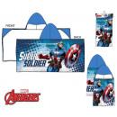 Avengers , Penguins beach towel poncho