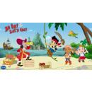 mayorista Artículos con licencia: Jake y los Piratas  de Nunca Jamás decoración de la