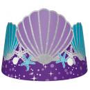 Mermaid, Mermaid Party hat, crown with 8 pieces