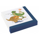 wholesale Gifts & Stationery: Dinosaur , Dinosaur napkin with 20 pieces 33 ...