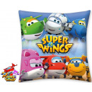 Super Wings cushion, cushion 40 * 40 cm
