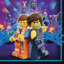 LEGO Movie, LEGO adventure napkin with 16 pieces,