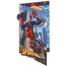 Spiderman Greeting Card + Envelope 3D