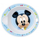 Baby soup plate micro Disney Mickey