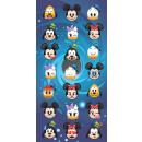 Disney Emoji bath towel, beach towel 70 * 140