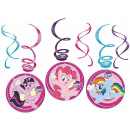 My Little Pony Ribbon decoration set of 6 pieces