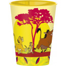 wholesale Drinking Glasses: Disney The Lion King glass, plastic 260 ml