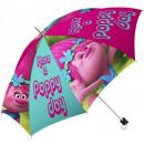 ingrosso Borse & Viaggi: pieghevole  ombrello bambini Trolls , Troll