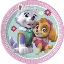 wholesale Party Items: Paw Patrol Skye and Everest Paper plate 20 cm
