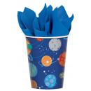 Space, Paper Paper Cup 8pcs 266 ml