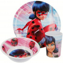 Kitchenware, melamine set Miraculous Ladybug