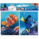 Colorable Notebook Stickers with Disney Nemo and D