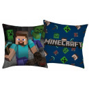 Minecraft pillow, decorative pillow 40 * 40 cm