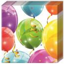 wholesale Gifts & Stationery:Balloon napkin 20 Pcs