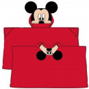Plush Duvert Poncho Disney Mickey 80 * 120