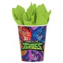 Ninja Turtles , Teen Ninja Turtles in paper cups