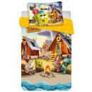 Pościel dziecięca SpongeBob 100 × 135cm