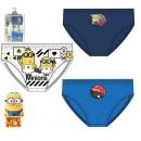 Minyonok children's underwear, panties 3 pcs /