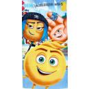 Emoji bath towel, beach towel 70 * 140cm
