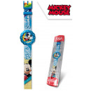 DisneyMickey analog fabric strap watch in box