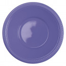 wholesale Gifts & Stationery: Plastic plate 10 pcs New Purple