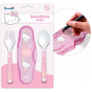 Baby traveling cutlery set Hello Kitty