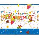 Großhandel Geschenkartikel & Papeterie: Happy Birthday Tischdecke 120 * 180 cm