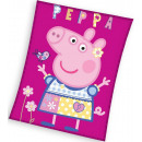 Peppa pig Fleece Duvert 110 * 140cm
