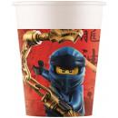 LEGO Ninjago Pappbecher 8 Stück 200 ml