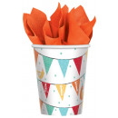 Barnyard, Pata farm paper cup 8 pcs 266 ml