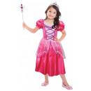 Pink Princess In Princess Costume 3-6 years