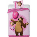 wholesale Home & Living: Masha and the Bear Kids' Bedding 100 × 135cm