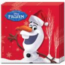 ingrosso Prodotti con Licenza (Licensing): Disney frozen , surgelati tovagliolo 20 Pz
