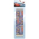 Disney Ołówek Verdák HB + gumka 5 szt