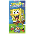 SpongeBob bath towel, beach towel 70 * 140cm