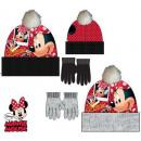 Czapki i rękawiczki dla dzieci ustawione Disney Mi