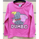 Disney Dumbo Pailletten Kinder Langarm T-Shirt 2-7