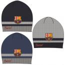 Kids knit cap FCB, FC Barcelona