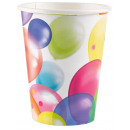 Ballons, Lufis paper cup 8 pcs 266 ml