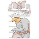 Großhandel Lizenzartikel: Kinderbettwäsche Disney Dumbo 100 × 135 cm, 40 × 6