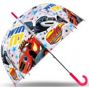 Großhandel Taschen & Reiseartikel: Kinder transparenten Regenschirm Blaze ...